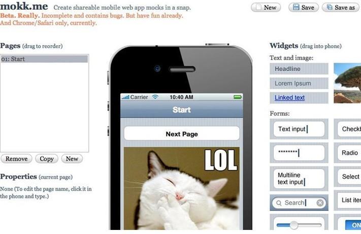 15款优秀移动app产品原型设计工具图片