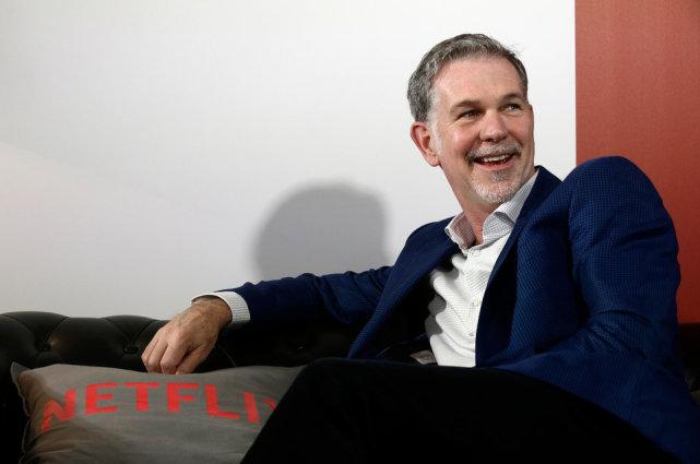 Netflix CEO哈斯廷斯:我们与苹果恰好相反
