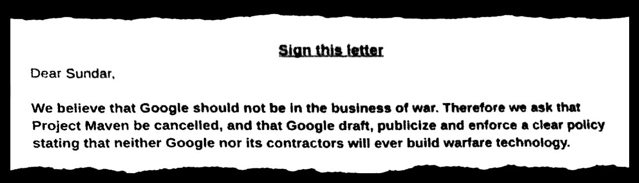 向员工妥协、停止与国防部续约,这是一个只会发生在 Google 的故事