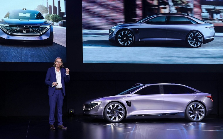拜腾汽车完成B轮5亿美元融资,一汽集团、宁德时代等入局