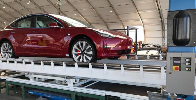 【硅谷】特斯拉Model 3周产量终达5000大关